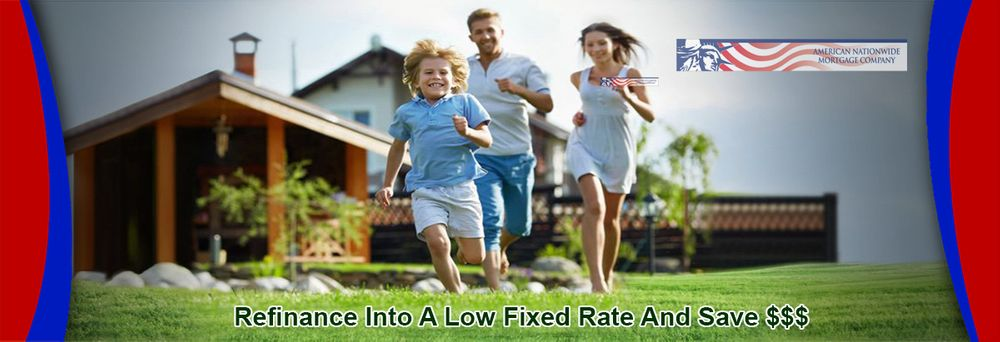 Refinance Into A low fixed rate and save